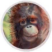 My Precious Round Beach Towel by Donald Maier