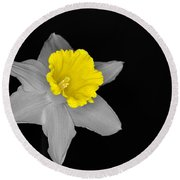 Daffo The Dilly Isolation Round Beach Towel