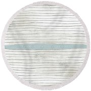 Daggar Round Beach Towel