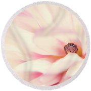 Dahlia Jumper Round Beach Towel
