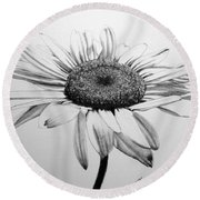Daisy II Round Beach Towel by Marna Edwards Flavell