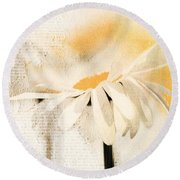 Daisyday - 56at01 Round Beach Towel by Variance Collections
