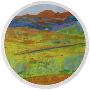 Dakota Territory Dream Round Beach Towel