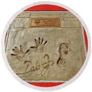 Dale Earnhardt Jr. Round Beach Towel