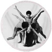 Dance: Alvin Ailey Round Beach Towel