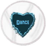 Dance Round Beach Towel