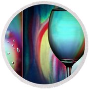 Dance With Me Round Beach Towel