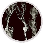 Dancing Apparitions Round Beach Towel