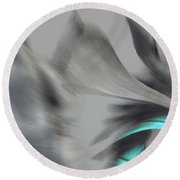 Round Beach Towel featuring the digital art Dancing by Beto Machado