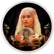 Dany Round Beach Towel