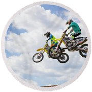 Daring Duo Round Beach Towel