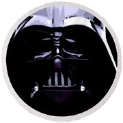 Dark Side Round Beach Towel