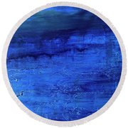 Darkness Descending Round Beach Towel