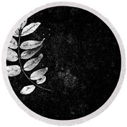Darkshines Round Beach Towel
