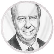 David Gergen Round Beach Towel