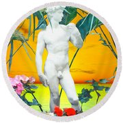 David Round Beach Towel