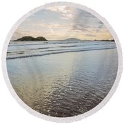 Dawn Binh Hai Beach Round Beach Towel
