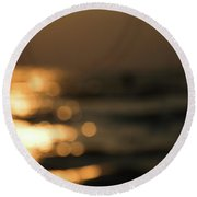 Dawn I Round Beach Towel