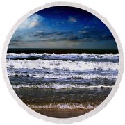 Dawn Of A New Day Seascape C2 Round Beach Towel