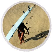 Dawn Patrol Round Beach Towel