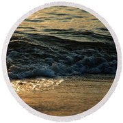 Dawn V Round Beach Towel