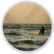 Dawn Vii Round Beach Towel