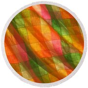 Round Beach Towel featuring the photograph Day Dreaming by Marie Neder