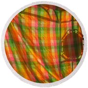 Round Beach Towel featuring the photograph Day Dreaming The Original by Marie Neder