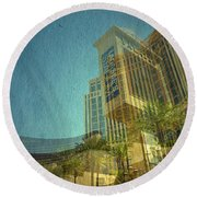 Day Trip Round Beach Towel by Mark Ross