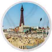 Day Trippers Round Beach Towel