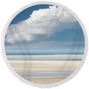 Day Without Rain Round Beach Towel