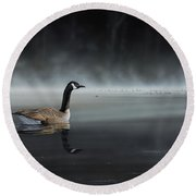 Daybreak Sentry Round Beach Towel