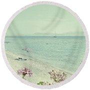 Daydream Round Beach Towel