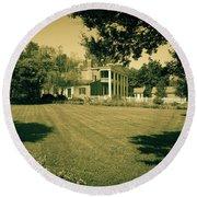 Days Bygone - The Hermitage Round Beach Towel