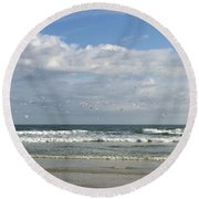 Daytona Beach 3 Round Beach Towel