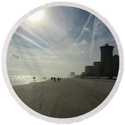 Daytona Beach Early Round Beach Towel