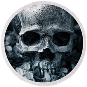 Round Beach Towel featuring the photograph Death Comes To Us All by Edward Fielding