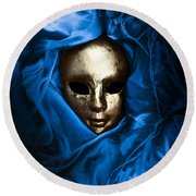 Death In The Valley Of Kings Round Beach Towel