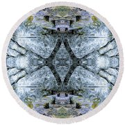 Deciduous Dimensions Round Beach Towel