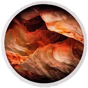 Deep Below Round Beach Towel