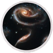 Deep Space Galaxy Round Beach Towel