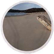 Defiant   Round Beach Towel