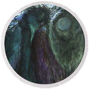 Deformed Transcendence Round Beach Towel