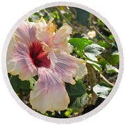 Delicate Expression Round Beach Towel