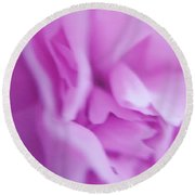 Delicate Pink Round Beach Towel