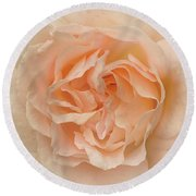 Delicate Rose Round Beach Towel by Jacqi Elmslie