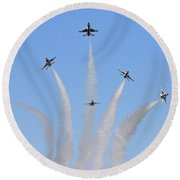 Delta Burst Round Beach Towel