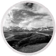 Denali National Park 4 Round Beach Towel