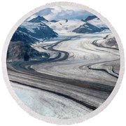 Denali National Park Round Beach Towel