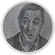 Deniro Round Beach Towel
